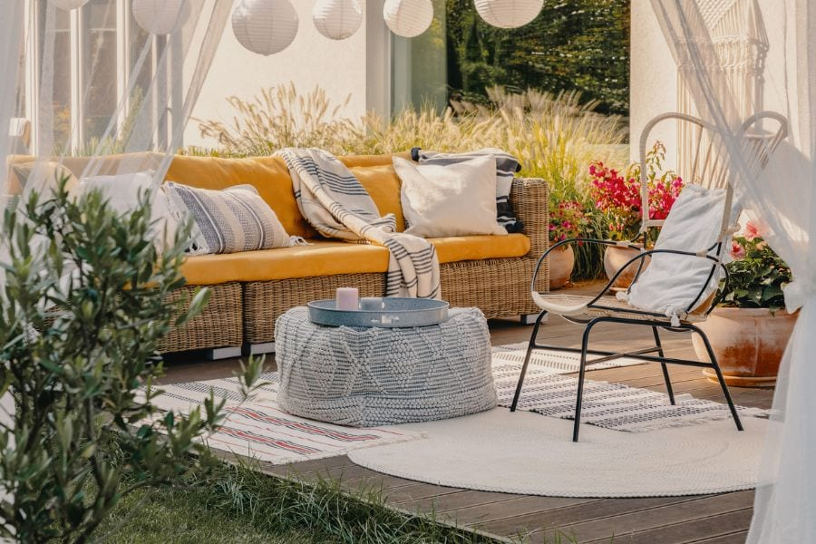 6 Smart Ways to Keep Your Outdoor Curtains From Blowing